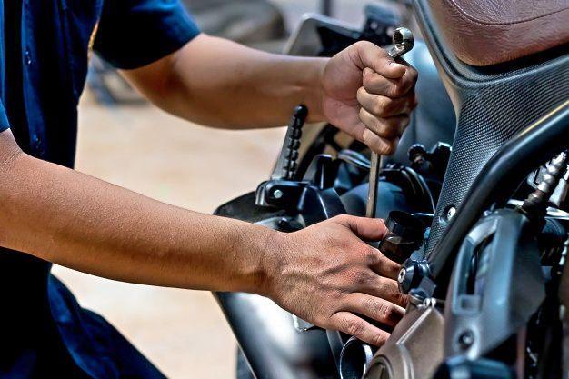 Motorradbetrieb